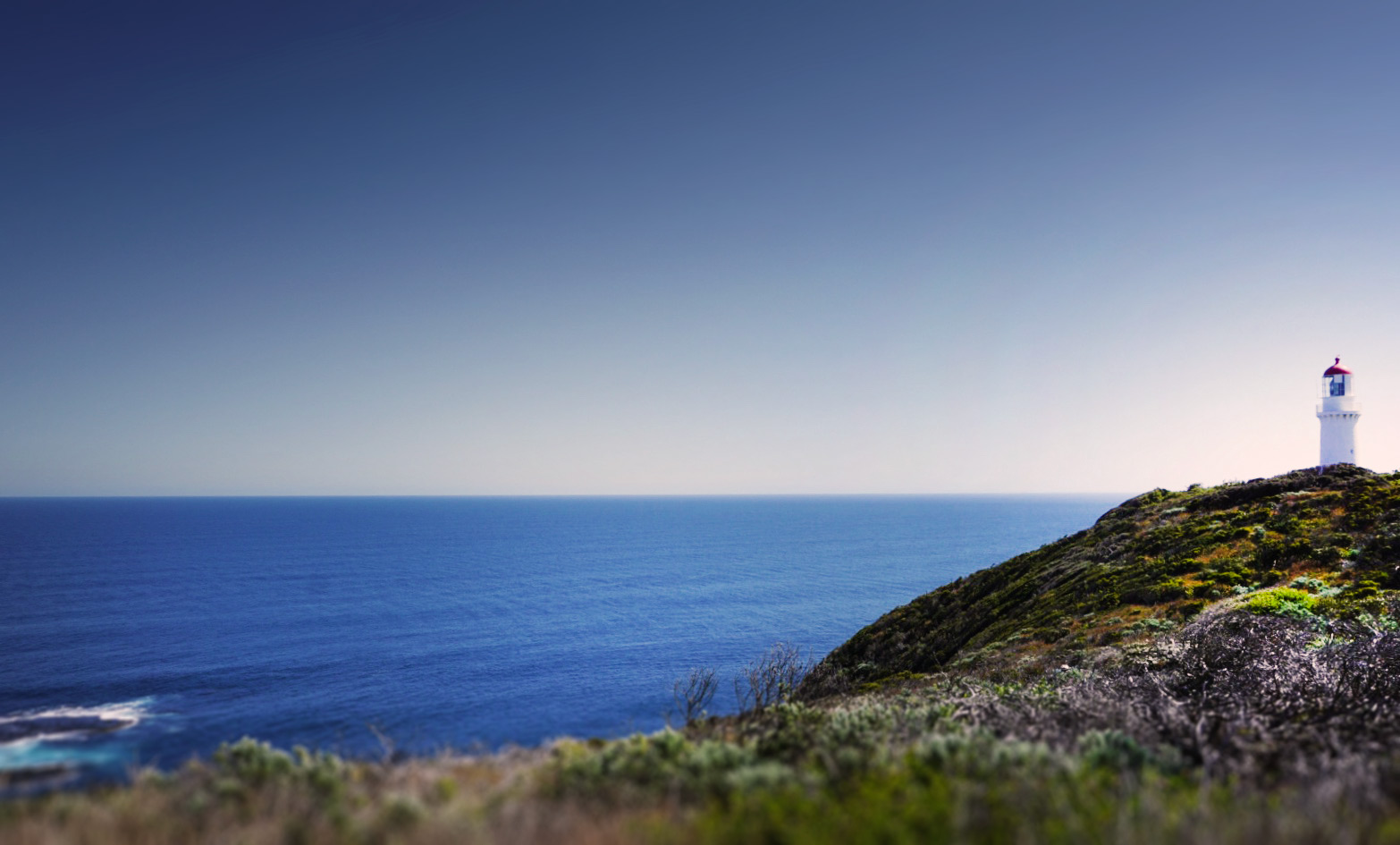 Cape Schanck Lighthouse coastal view